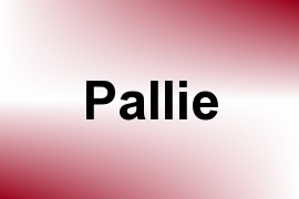 Pallie name image
