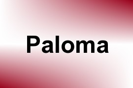 Paloma name image