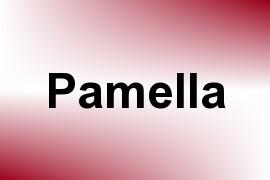 Pamella name image