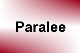 Paralee name image
