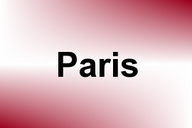 Paris name image