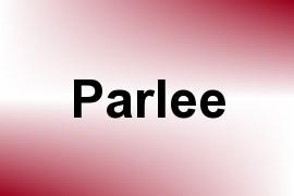 Parlee name image