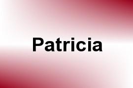 Patricia name image