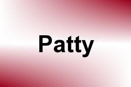 Patty name image