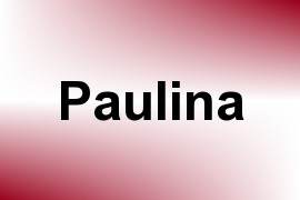 Paulina name image