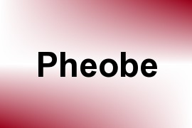 Pheobe name image
