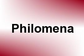 Philomena name image