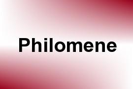 Philomene name image