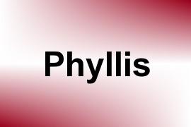 Phyllis name image