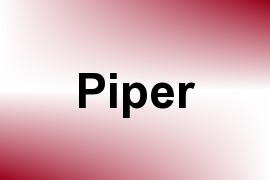 Piper name image
