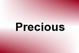 Precious name image