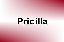 Pricilla name image