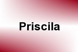 Priscila name image