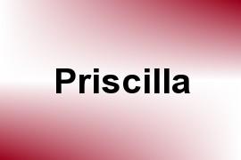 Priscilla name image
