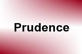 Prudence name image