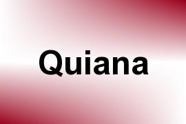 Quiana name image