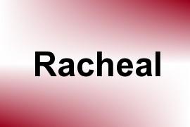 Racheal name image
