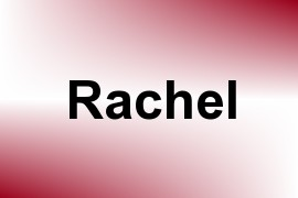 Rachel name image
