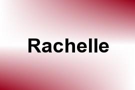 Rachelle name image