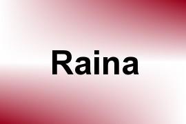Raina name image