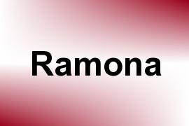Ramona name image