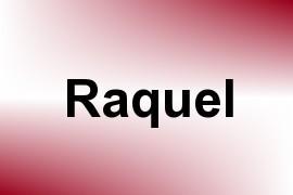 Raquel name image