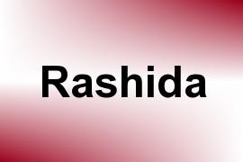 Rashida name image