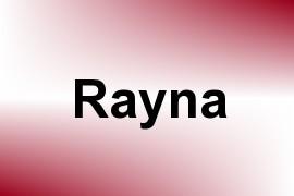 Rayna name image