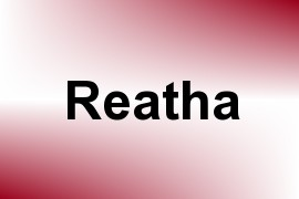 Reatha name image