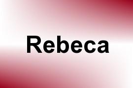 Rebeca name image