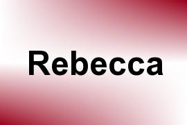 Rebecca name image