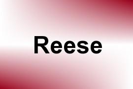 Reese name image