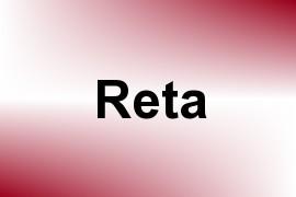 Reta name image