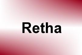 Retha name image