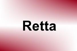 Retta name image