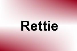 Rettie name image