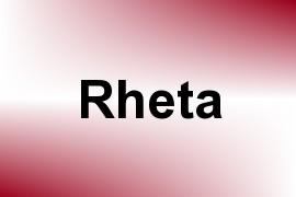 Rheta name image