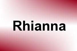 Rhianna name image