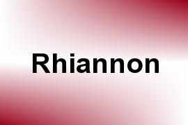 Rhiannon name image
