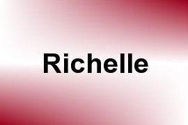 Richelle name image