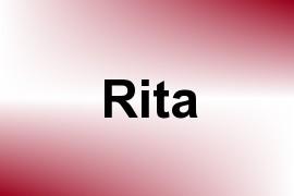 Rita name image