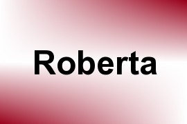 Roberta name image