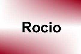 Rocio name image