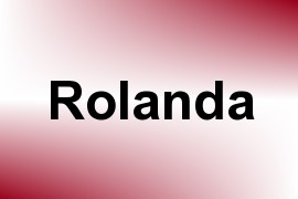 Rolanda name image