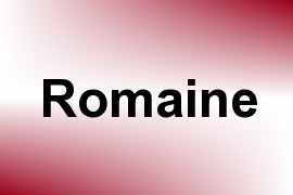 Romaine name image