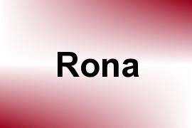 Rona name image