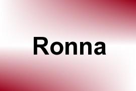 Ronna name image