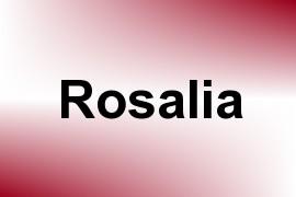 Rosalia name image