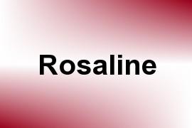Rosaline name image