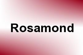 Rosamond name image